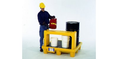 Model 2430 - Ultra-Stacking Shelf - Yellow