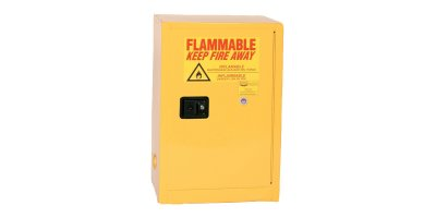 Eagle - Model 1924 - Flammable Safety Cabinet - 12 Gallon - Self-Closing