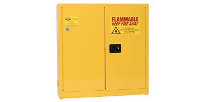 Eagle - Model 1976 - Wall Mount Flammable Safety Cabinet - 24 Gallon