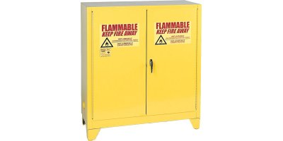 Eagle - Model 3010LEGS - Tower Safety Cabinet - 30 Gal - Self Closing