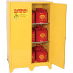Eagle - Model 9010LEGS - Flammable Safety Cabinet - 90 Gal. Self Closing