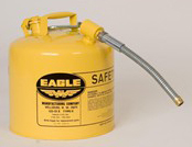 Eagle - 5 Gallon Diesel Safety Can with 7/8