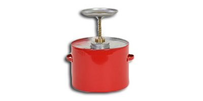 Eagle - Model P-704 - 4 Quart Metal Plunger Can