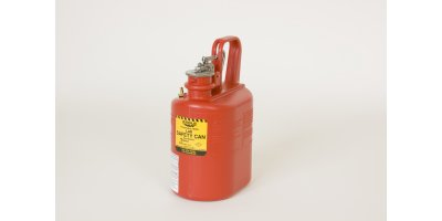 Eagle - Model 1511 - 1 Gallon Red Poly Lab Safety Can
