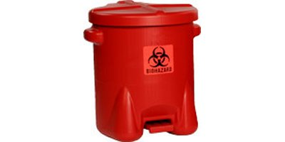 Eagle - Model 947BIO - HDPE Bio hazard Waste Can
