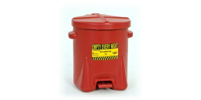Eagle - Model 933-FL - 6 Gallon Oily Waste Can