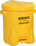 Eagle - Model 937-FLY - Polyethylene Oily Waste Can