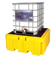UltraTech - Model Plus 1158 - IBC Spill Pallet - With Drain