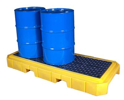UltraTech - Model P3 Plus - Spill Pallet - 9627 - 3 Drum With Drain