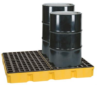 Eagle - Model 1635D - Spill Platform - Modular - 4 Drum - With Drain