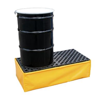 UltraTech - Model 1340 - Flexible Spill Pallet P2 - 2 Drum - No Drain