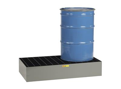 Little Giant - Model SSB-5125-66 - 2 Drum Low Profile Steel Spill Pallet