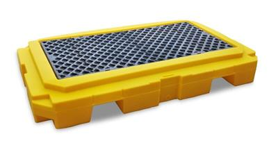 UltraTech - Model 9611 - Ultra Spill Pallet P2 Plus - 2 Drum - With Drain