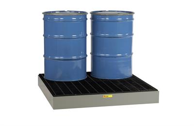 Little Giant - Model SSB-5151 - 4 Drum Low Profile Steel Spill Pallet
