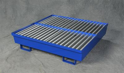 Eagle - Model 1640ST - Four Drum Steel Spill Containment Pallet