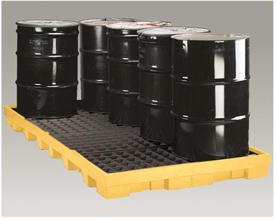 Eagle - Model 1688D - Low Profile Spill Platform - 8 Drum - With Drain