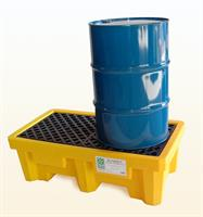 UltraTech - Model 1011 - Spill Pallet P2 - 2 Drum With Drain