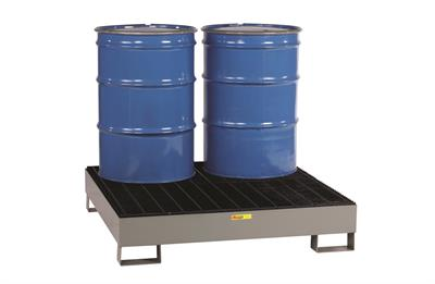 Little Giant - Model SST-5151 - 4 Drum Forkliftable Steel Spill Pallet