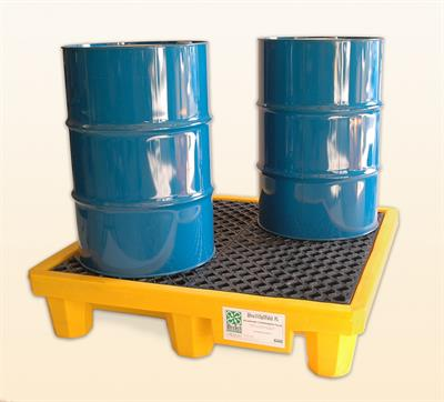 UltraTech - Model 1001 - Ultra-Spill Pallet P4 - 4 Drum With Drain
