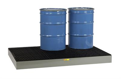 Little Giant - Model SSB-5176 - 6 Drum Low Profile Steel Spill Pallet