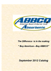 American Boom & Barrier Corporation (ABBCO) Absorbents- Brochure