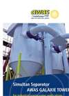 AWAS Galaxie Tower Simultan Separator for Industrial Waste Water Applications Brochure