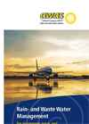 AWAS - Rain- and Waste Water Management for Movement areas and Washing Stations at Airports Brochure