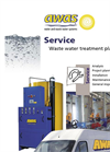 AWAS - Waste Water Treatment Plant Services Brochure
