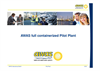 AWAS - Full Containerized Pilot Plant Presentations