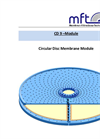 Model CD 9 – Circular Disc Membrane Module Brochure