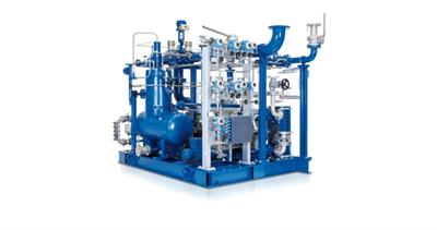 Biogas compressor  - Model series VMX - Oil-injected screw compressor for bio- and processgas