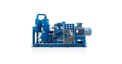 Biogas compressor - Model series VMY - Oil injected screw compressor for bio- and processgas