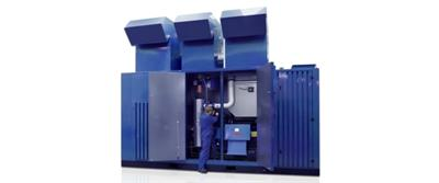 AERZEN - Oil-Free Multi-Stage Screw Compressor Units