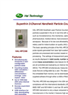 Model HAL-HPC300 - 3-Channel Handheld Particle Counter Brochure