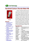 Model HCO202 - Handheld Carbon Dioxide Meter/Monitor Brochure
