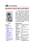 Model HCO107 - Handheld Carbon Monoxide Meter/Monitor Brochure