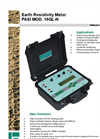 PASI - Model 16GL-N - Earth Resistivity Meter Datasheet