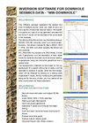 Geo2X - Version Win_Downhole - Inversion Software For Downhole Seismics Data - Brochure