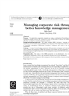 Knowledge Management is Risk Management - Brochure