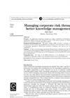 Knowledge Management is Risk Management - Brochure
