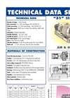 031 Multistage Centrifugal Blowers Brochure