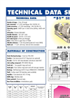 051 Multistage Centrifugal Blowers Brochure