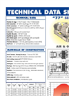 Model 077 - Multistage Centrifugal Blowers - Brochure