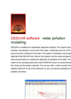 Canarina DESCAR (water pollution modeling) software