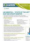 Model LM3086 - Dust & Opacity Monitor Brochure