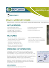 Model CSM-3 - Process Mercury Monitor Brochure