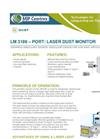 Model LM3189 - Port Laser Dust Monitoring Brochure