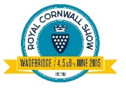 WPL at the Royal Cornwall Show, Wadebridge 4th ,5th ,6th June 2015
