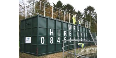 WPL - Transportable Wastewater Treatment Units for hire