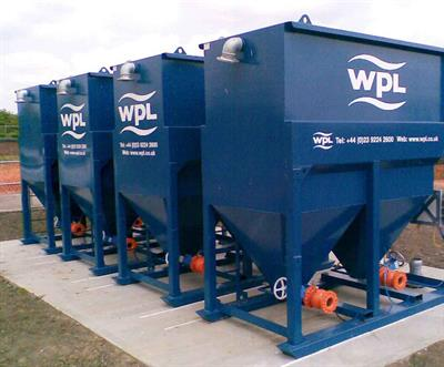 WPL - Lamella Plate Settlement Tank for Primary or Final Treatment